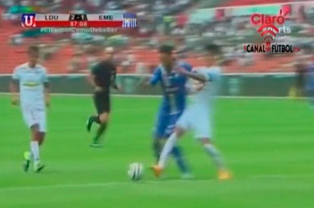 Foto: Captura de pantalla, Video EL CANAL DEL FÚTBOL