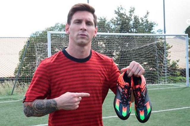 imágenes detalladas precio de descuento valor por dinero FOTOS) DE ESTRENO: Los zapatos de Messi para el clásico ante ...