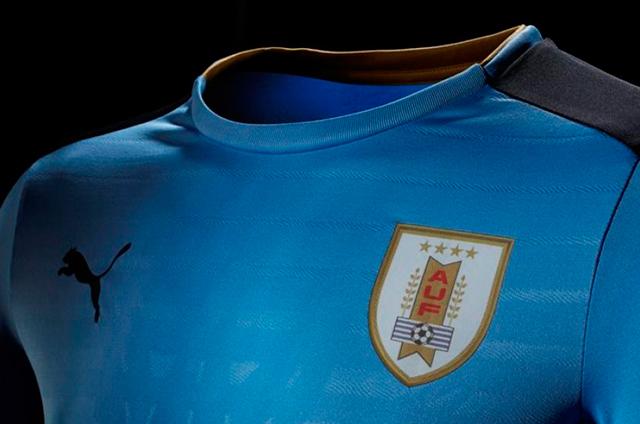073f9859 VIDEO-FOTOS) CELESTE RENOVADA: Las nuevas camisetas de Uruguay ...