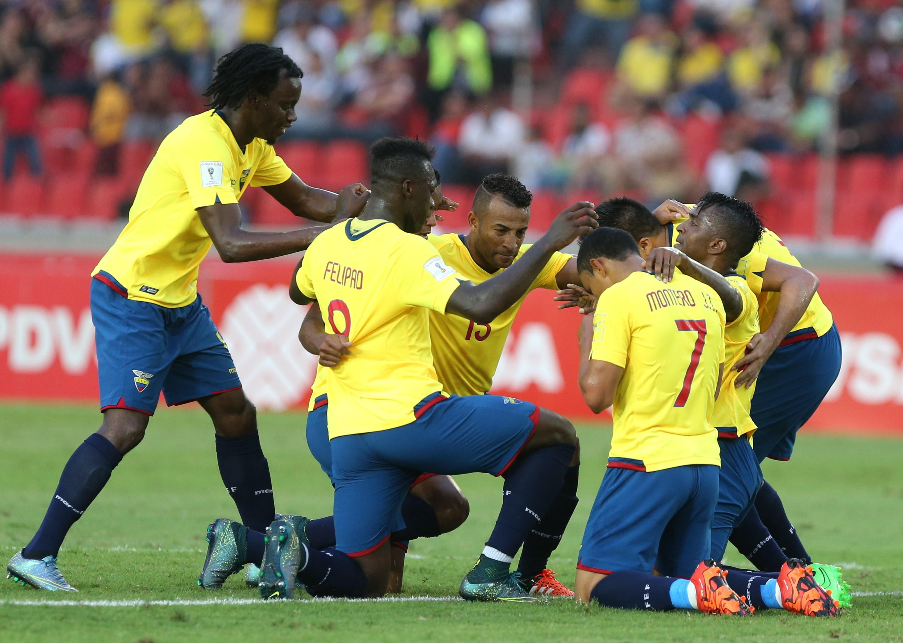 Resultado de imagen para Ecuador venezuela 2016
