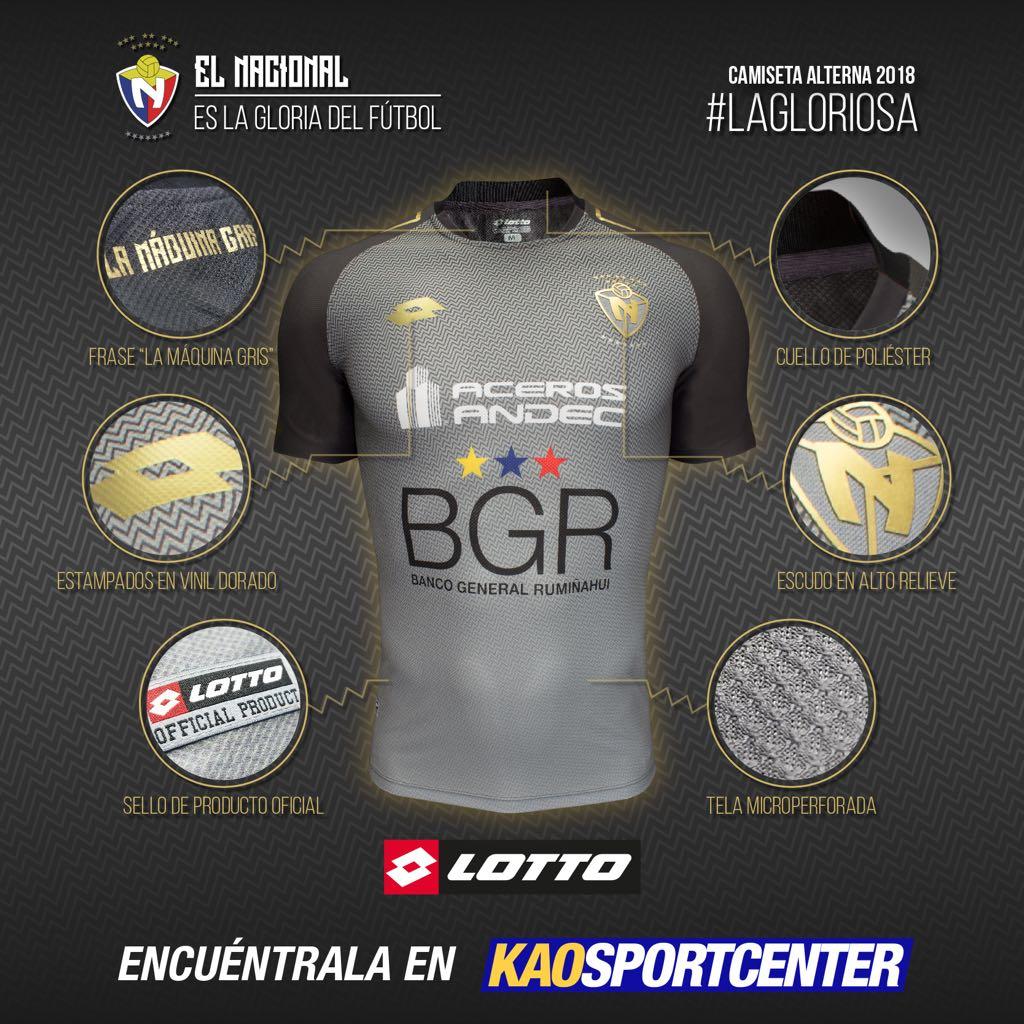 2daf22c0ba4c8 La alterna del Campeonato será color gris y para el torneo internacional