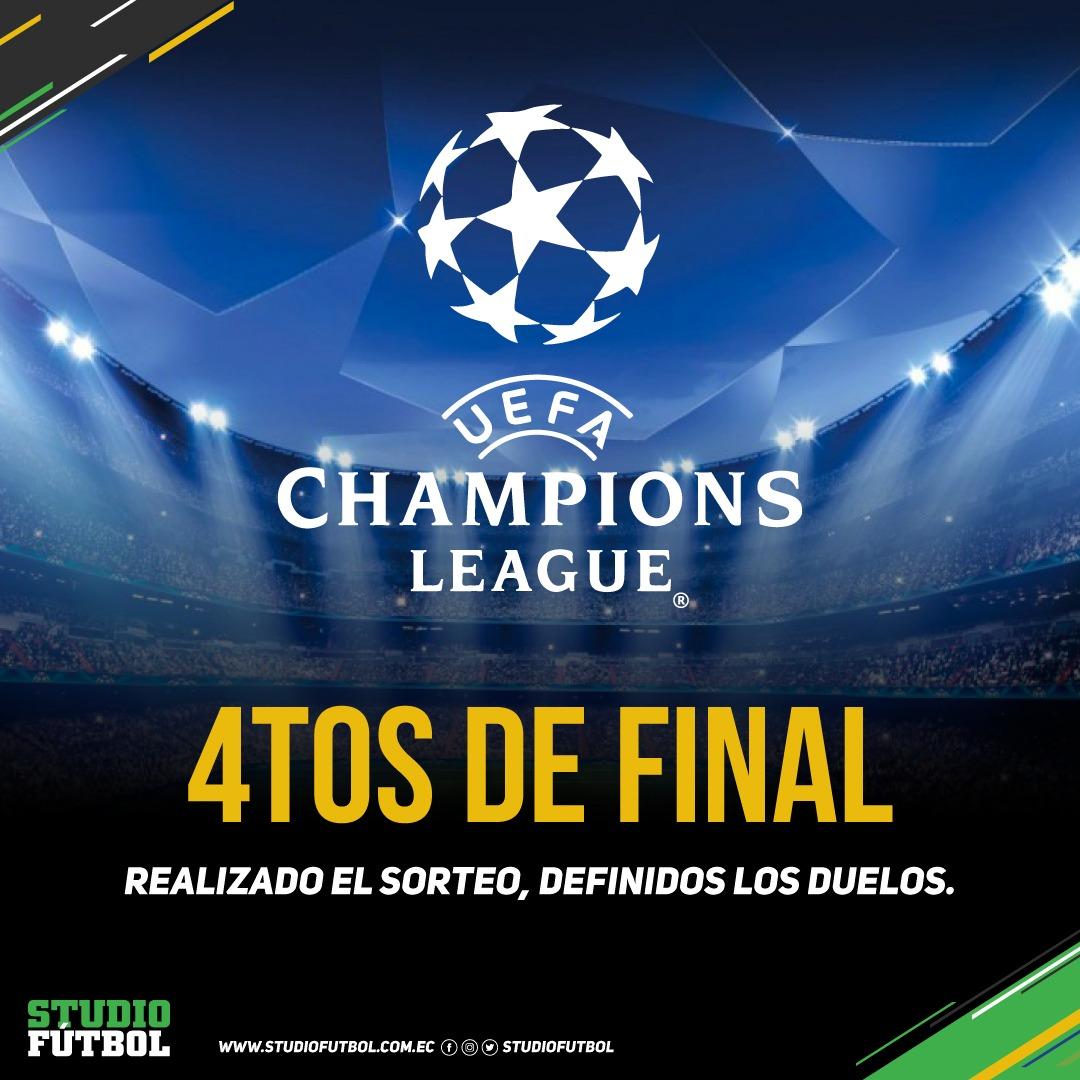 Champions League: Juve-Madrid, Barça-Roma, ¡cuartos de final ...