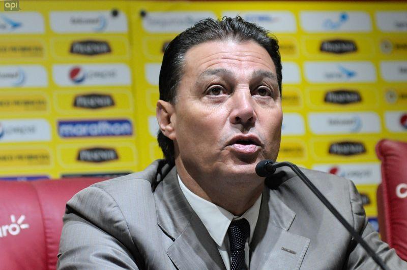 Así reaccionó Alfaro Moreno ante la victoria de Barcelona | ECUAGOL