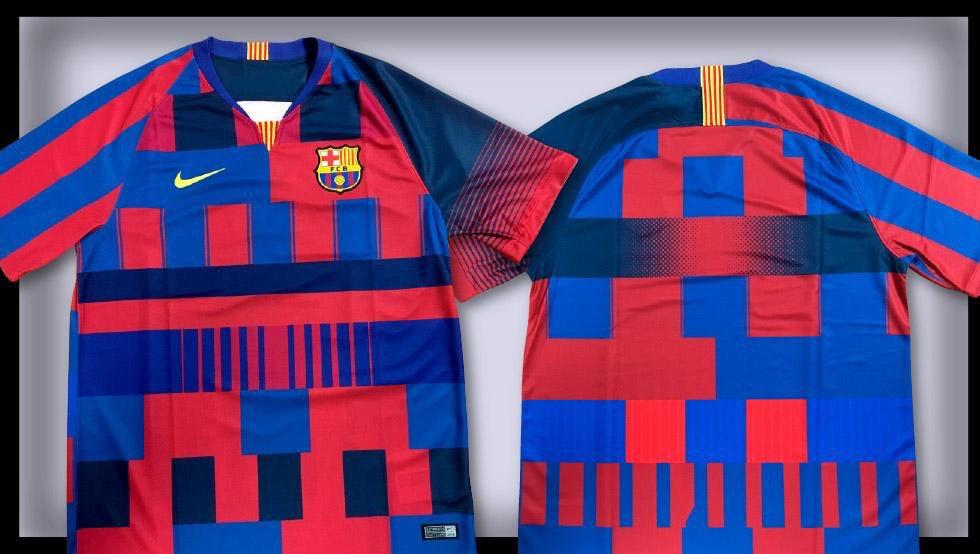 c4f928555ddbe (FOTOS) Camiseta especial de Nike por los 20 años con el.
