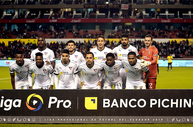 Resultado de imagen para Liga de Quito ecuagol 2019