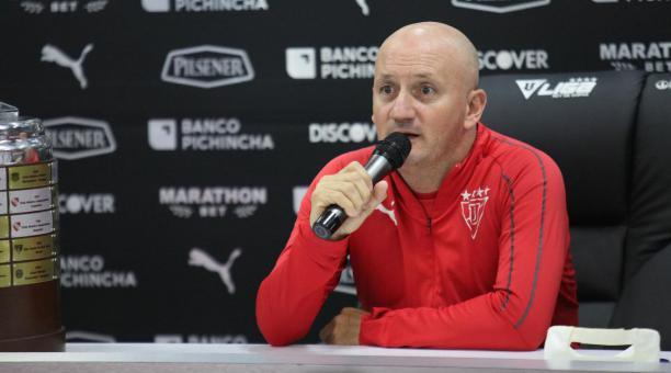 """(VIDEO) Repetto: """"Iremos a buscar el gol y el partido en Manta"""" - StudioFutbol"""